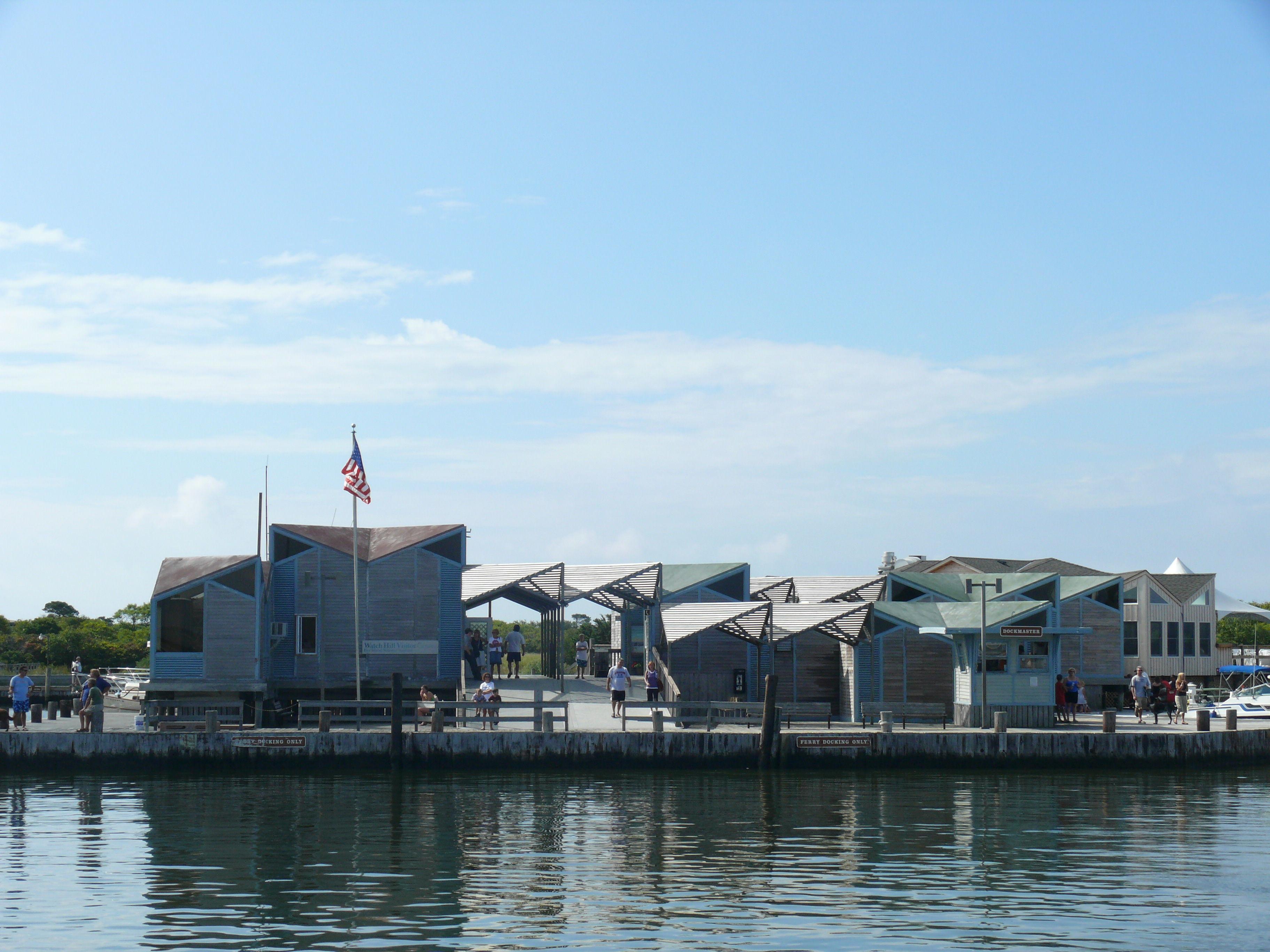 Marina Fire Island Seashore Ny