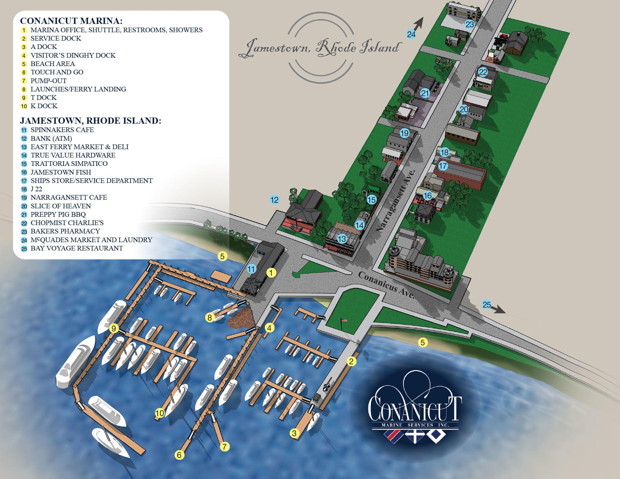 Conanicut Marine Services in Jamestown, RI, United States