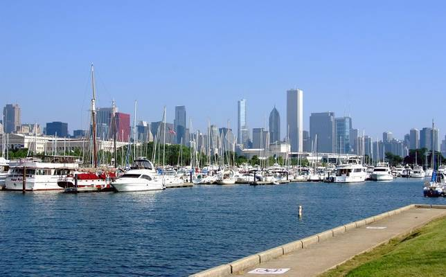 Burnham Harbor, the Chicago Harbors
