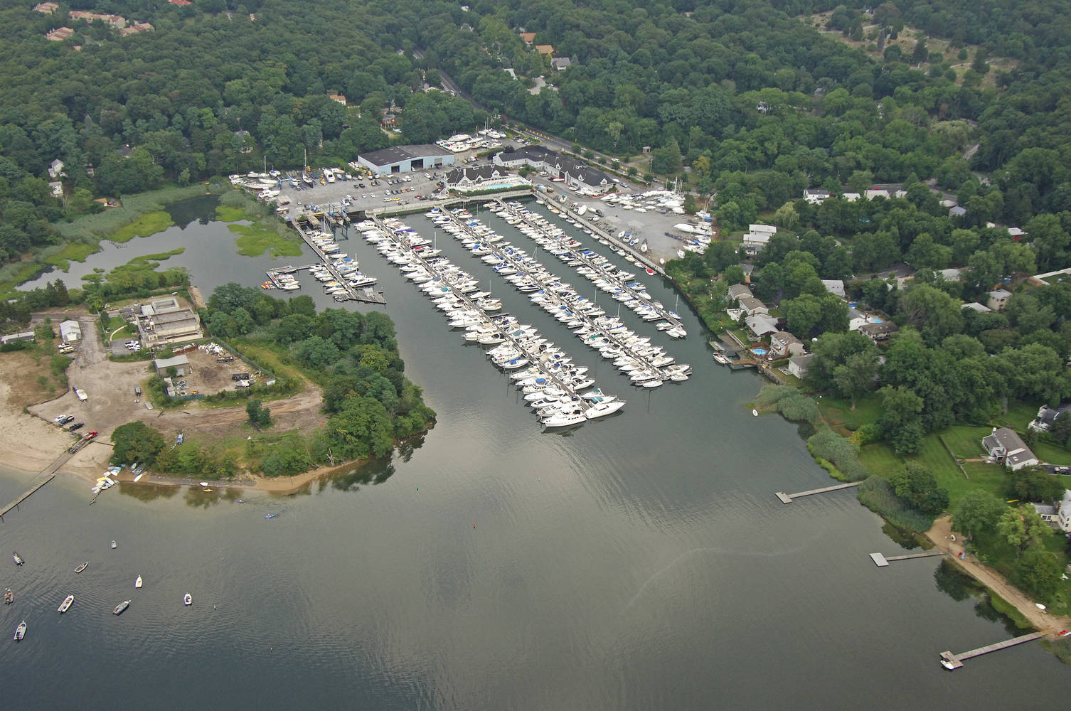 Britannia Yachting Center Slip Dock Mooring Reservations