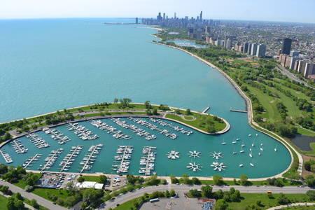 Montrose Harbor, the Chicago Harbors