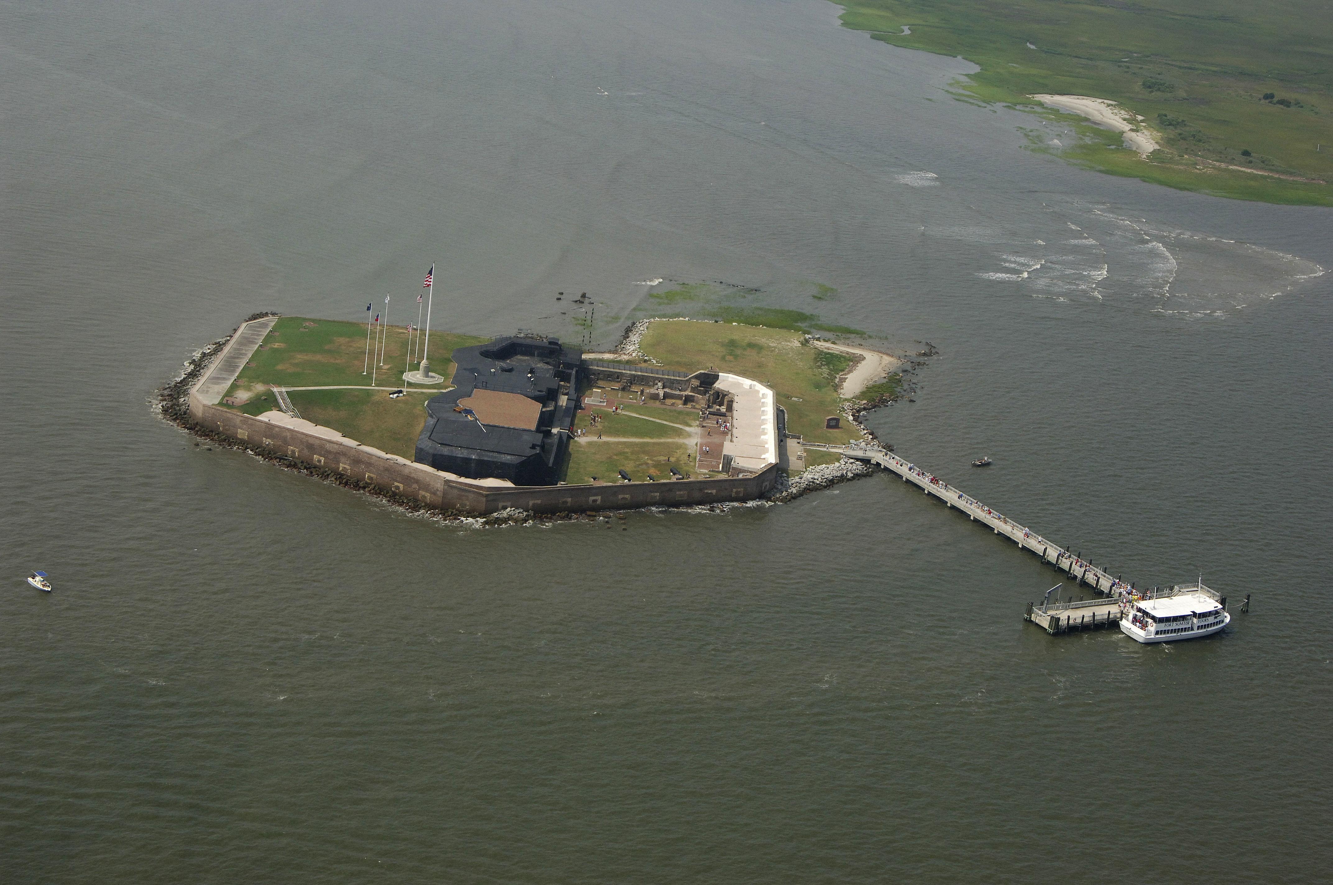 Charleston Sc To Myrtle Beach >> Fort Sumter Landmark in Sullivan's Island, SC, United ...