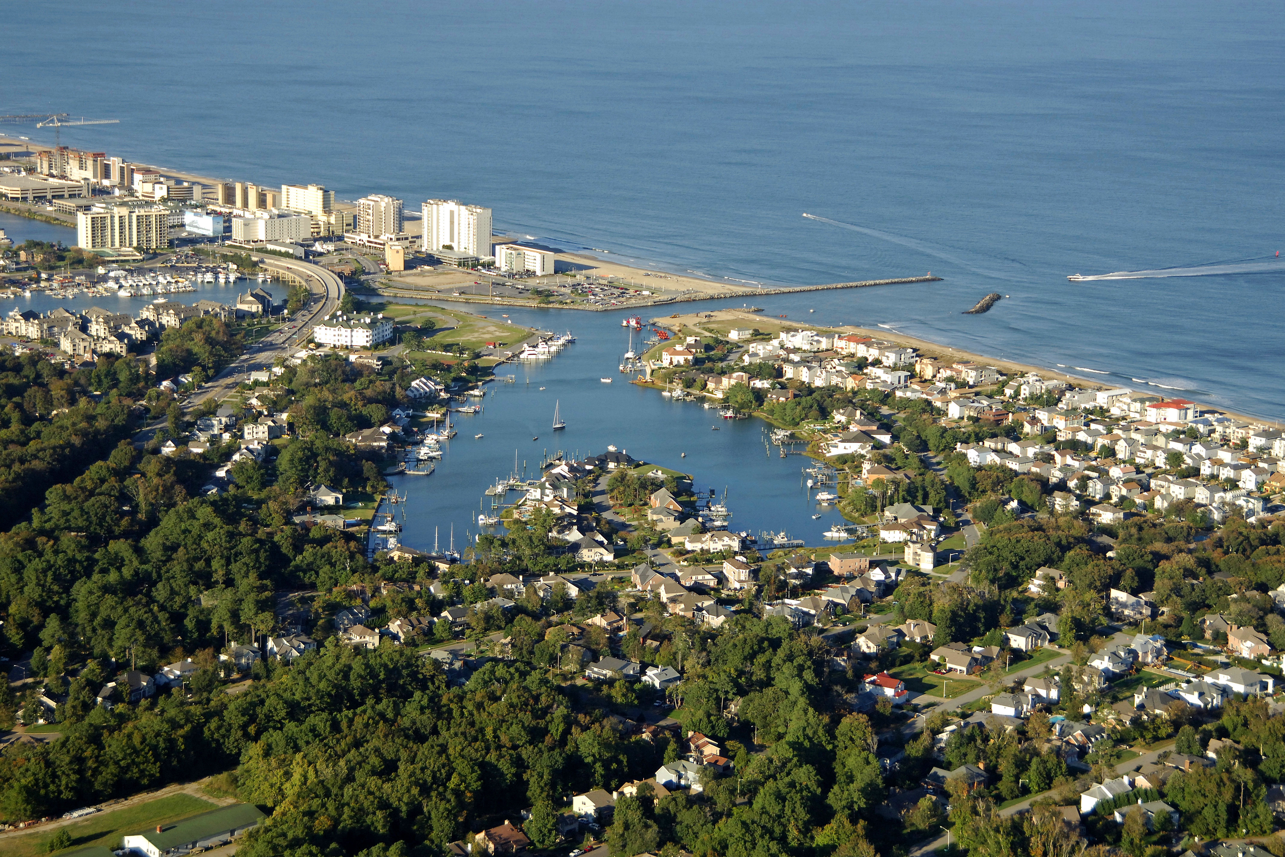 Rudee Inlet Virginia Beach Fishing Center