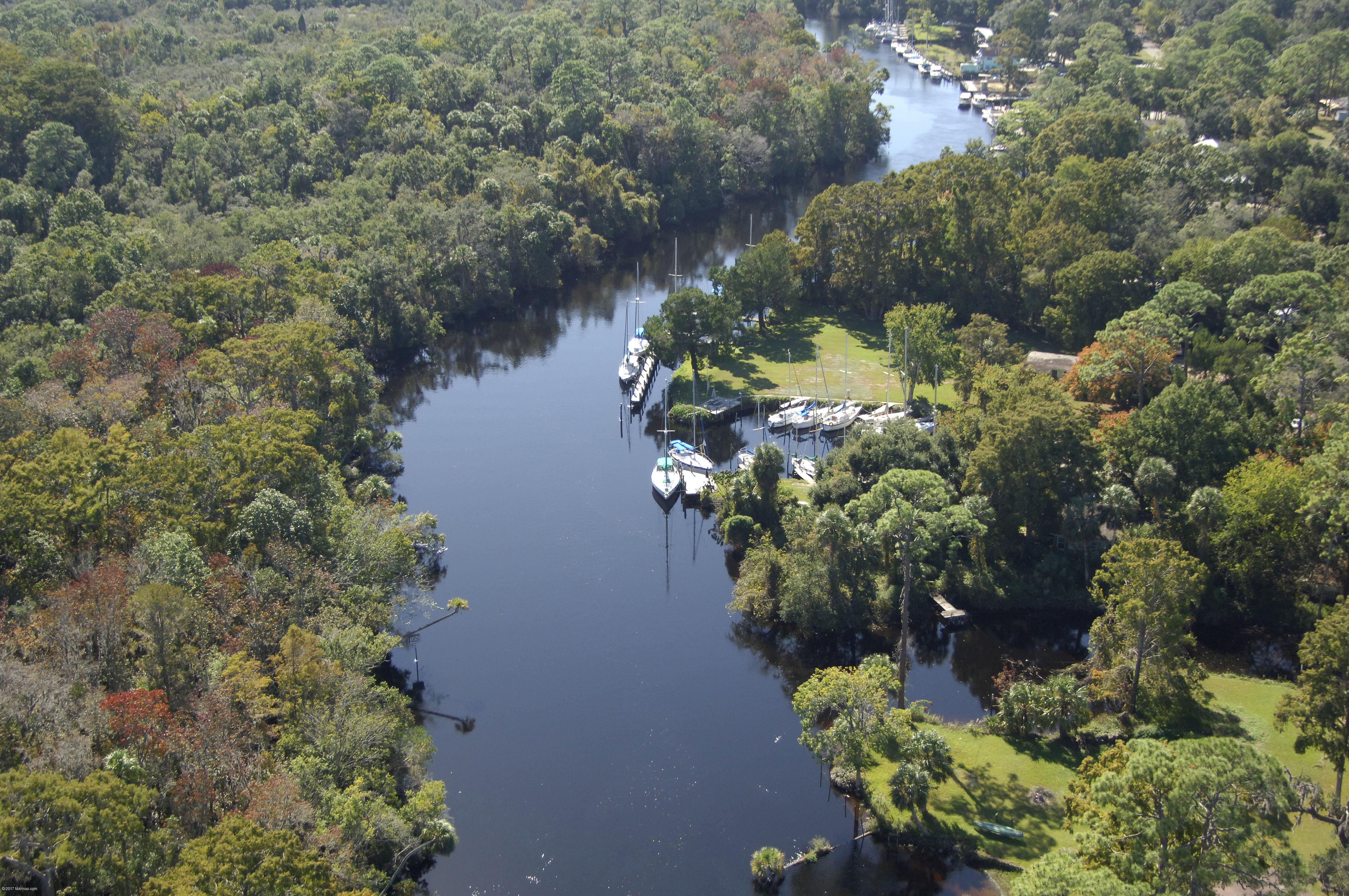 Riverside Marina  Cottages In Yankeetown FL United States - Yankeetown florida map