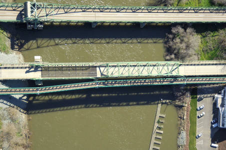 Mossdale Lift Bridge