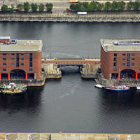 Salthouse Dock Lift Bridge