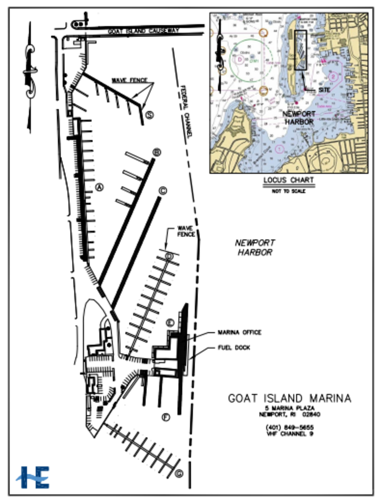 Goat Island Marina Slip Dock Mooring Reservations