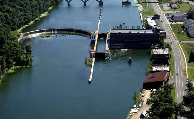 Oswego Canal Lock 4