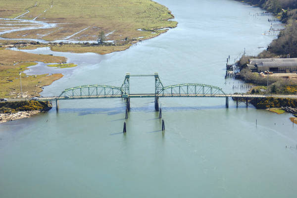 Hwy 101,  Coquille River Lift Bridge
