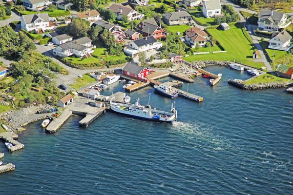 Vassoy Ferry Harbour