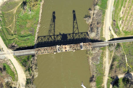 Mossdale Railroad Lift Bridge
