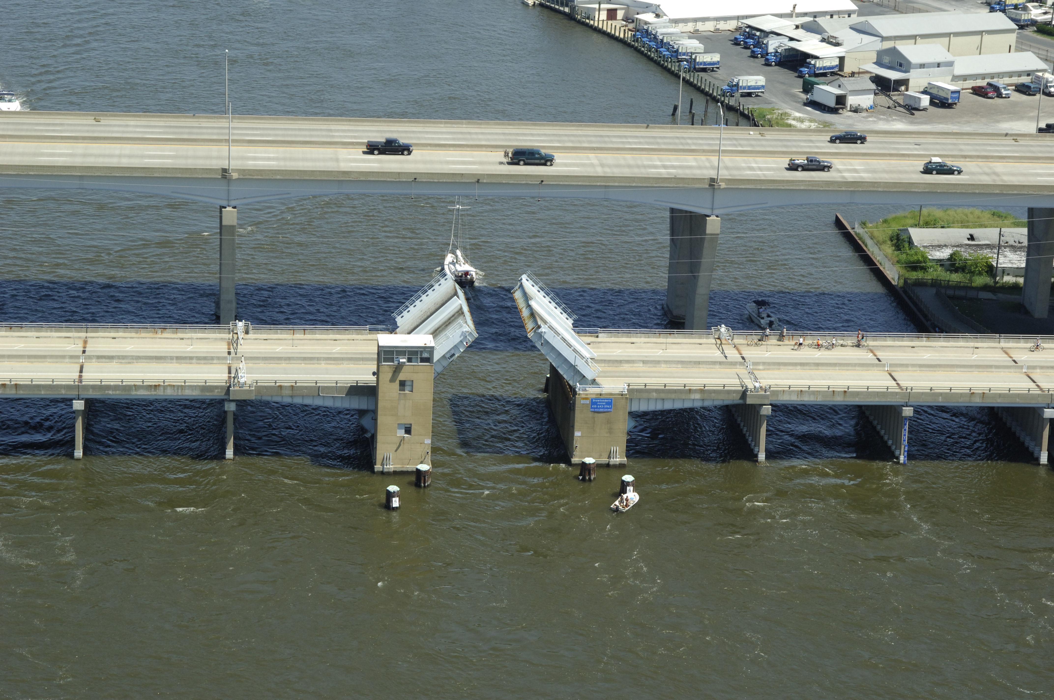 kent narrows bascule bridge in md  united states - bridge reviews - phone number