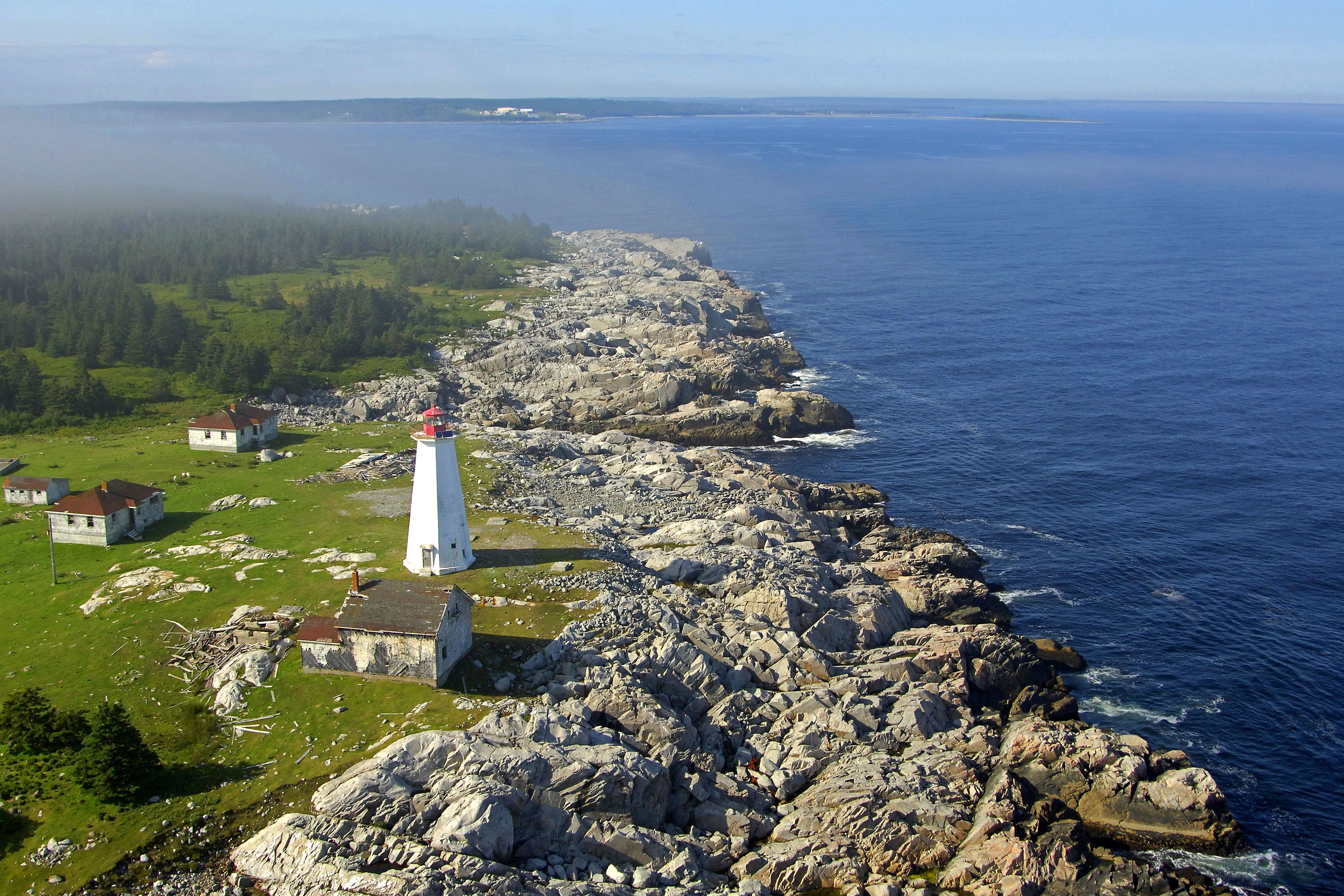 Cape Roseway Lighthouse in McNutt's Island, NS, Canada - lighthouse Reviews - Phone Number ...