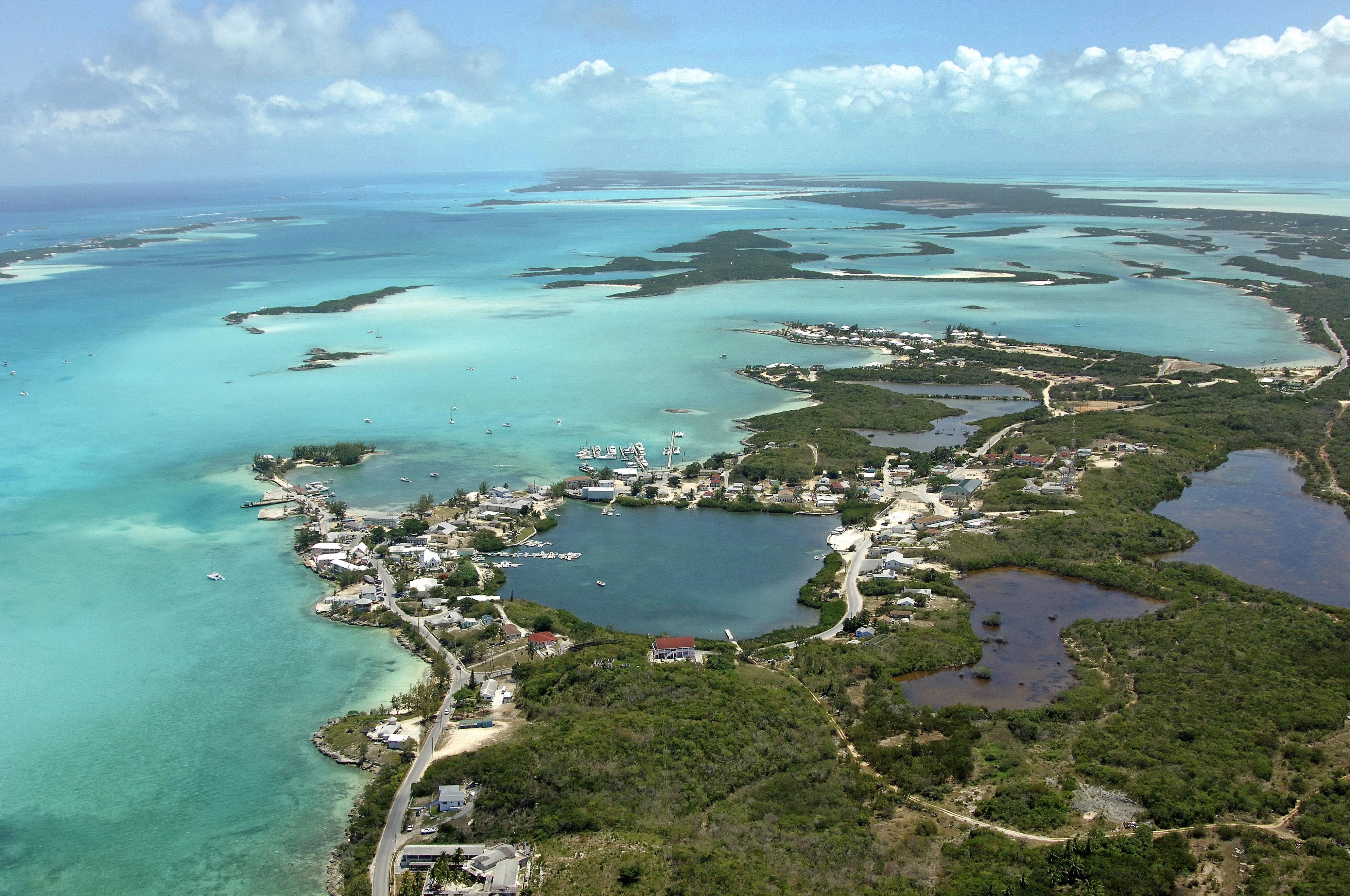 Georgetown Harbor in Georgetown, EX, Bahamas - harbor