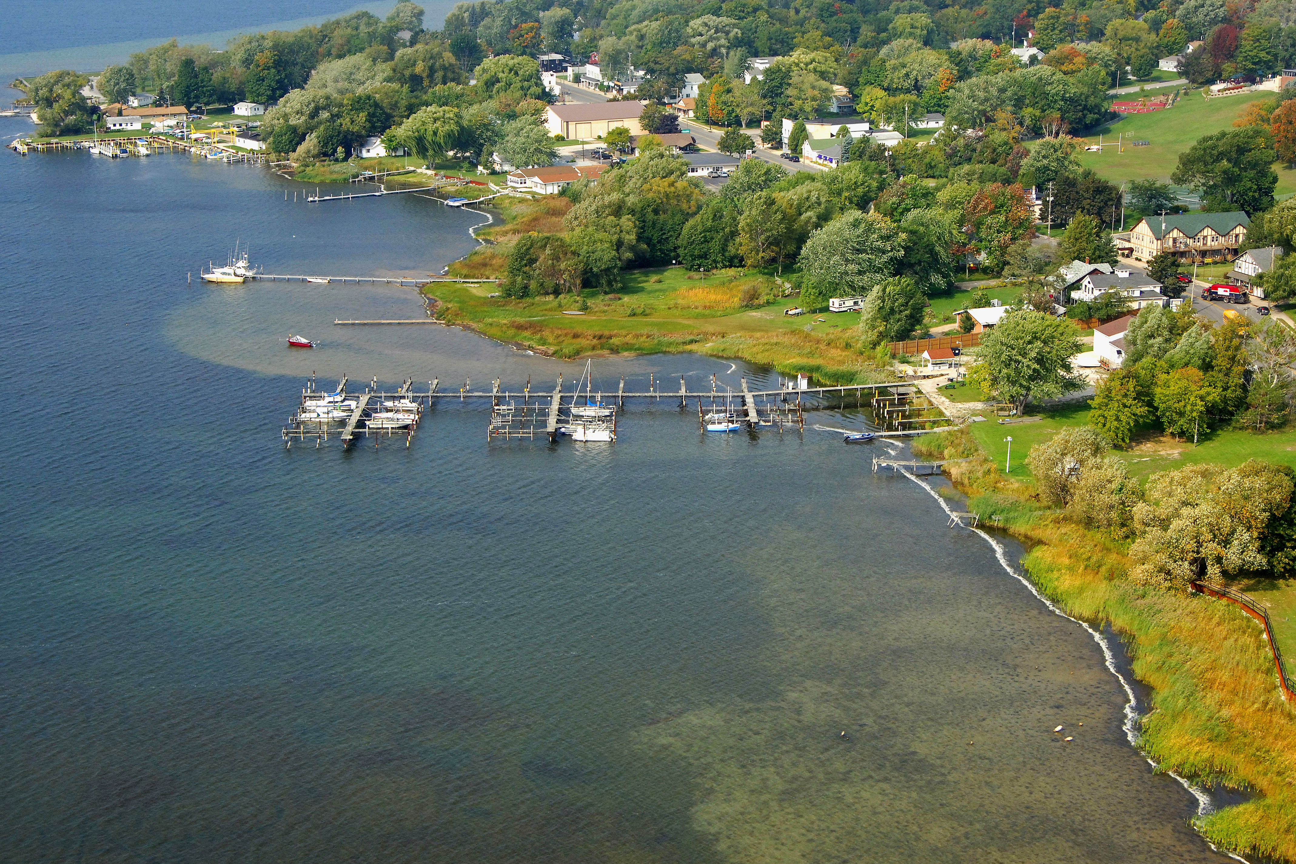 Portage Lake Marina in Onekama, MI, United States - Marina