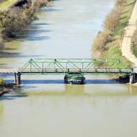 Sutter Slough Swing Bridge