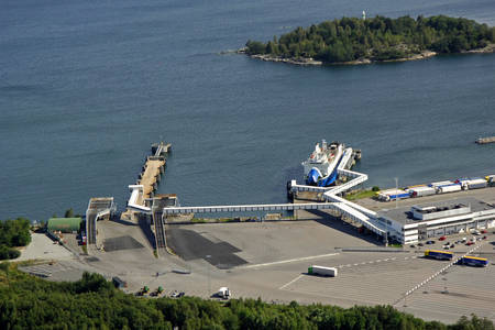 Kapellskaer Viking Line Terminal Ferry