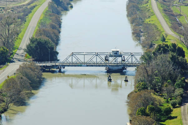 Tyler Island Swing Bridge