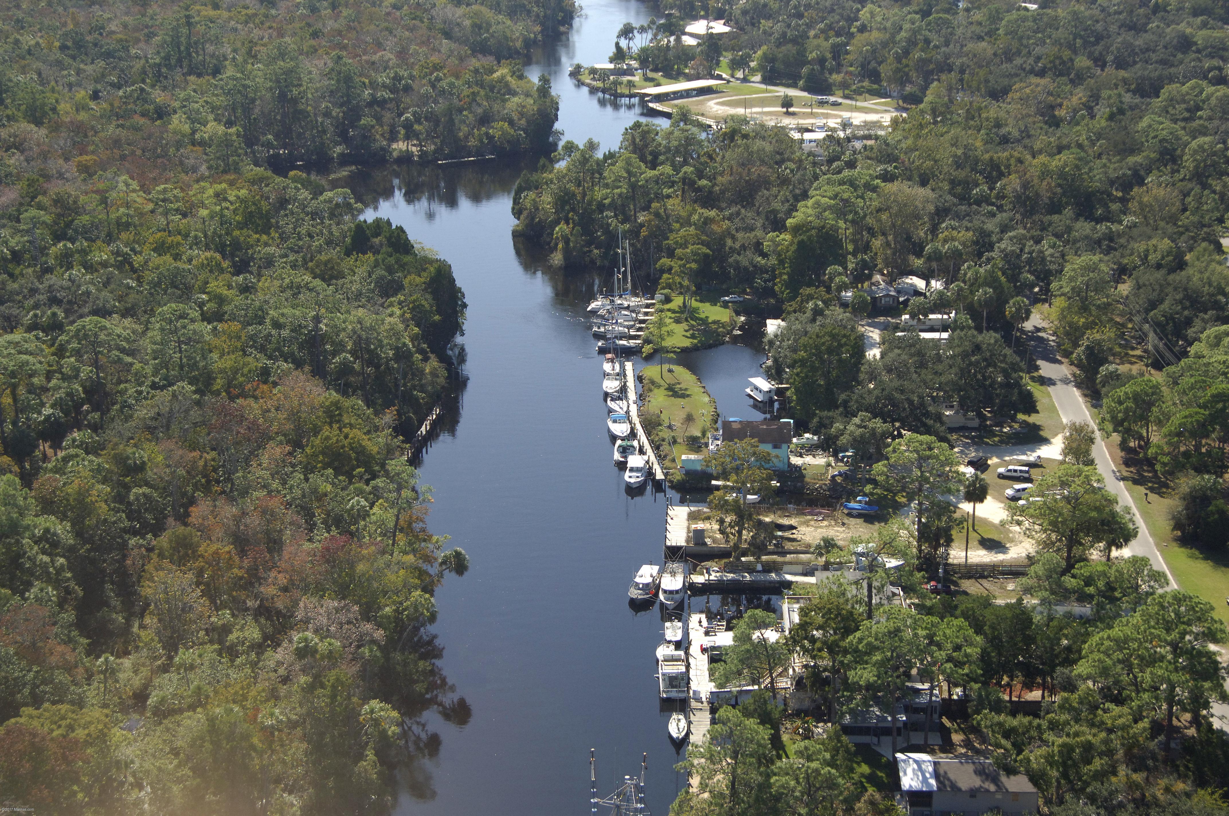 Bs Marina  Campground In Yankeetown FL United States Marina - Yankeetown florida map