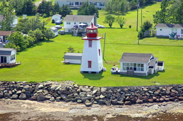 Caissie Cape Light (Caissie Point Light)