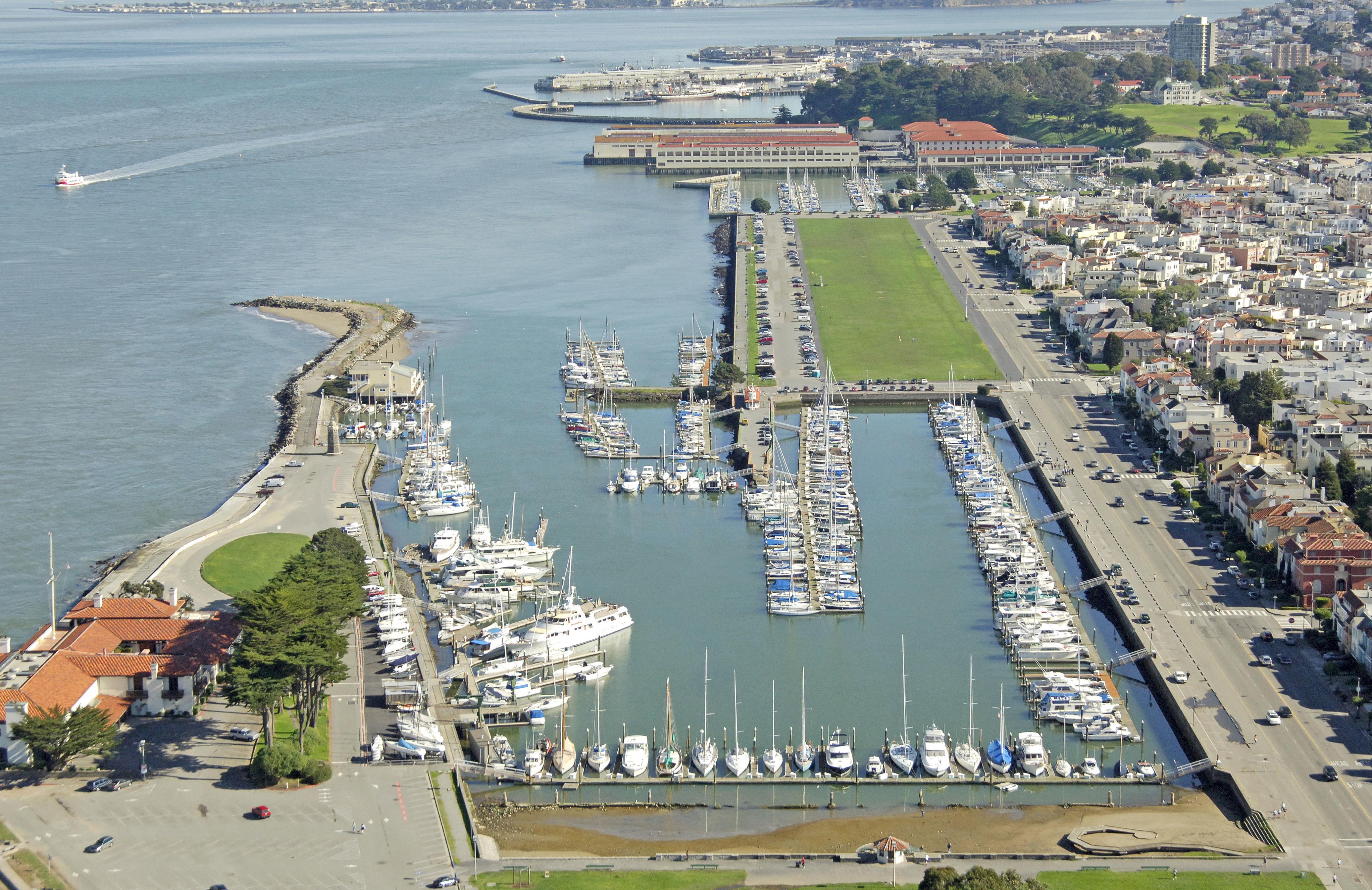 San Francisco Marina West Harbor in San Francisco, CA