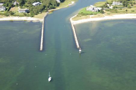 Saquatucket Harbor Inlet
