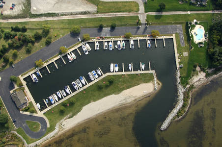 Lakeshore Yacht Harbour In Muskegon Mi United States