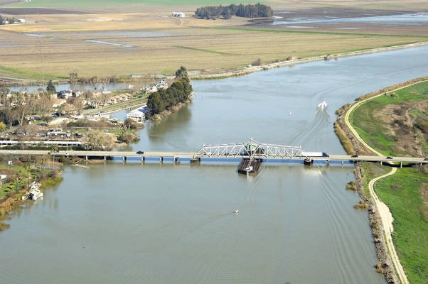 Mokelumne River Swing Bridge