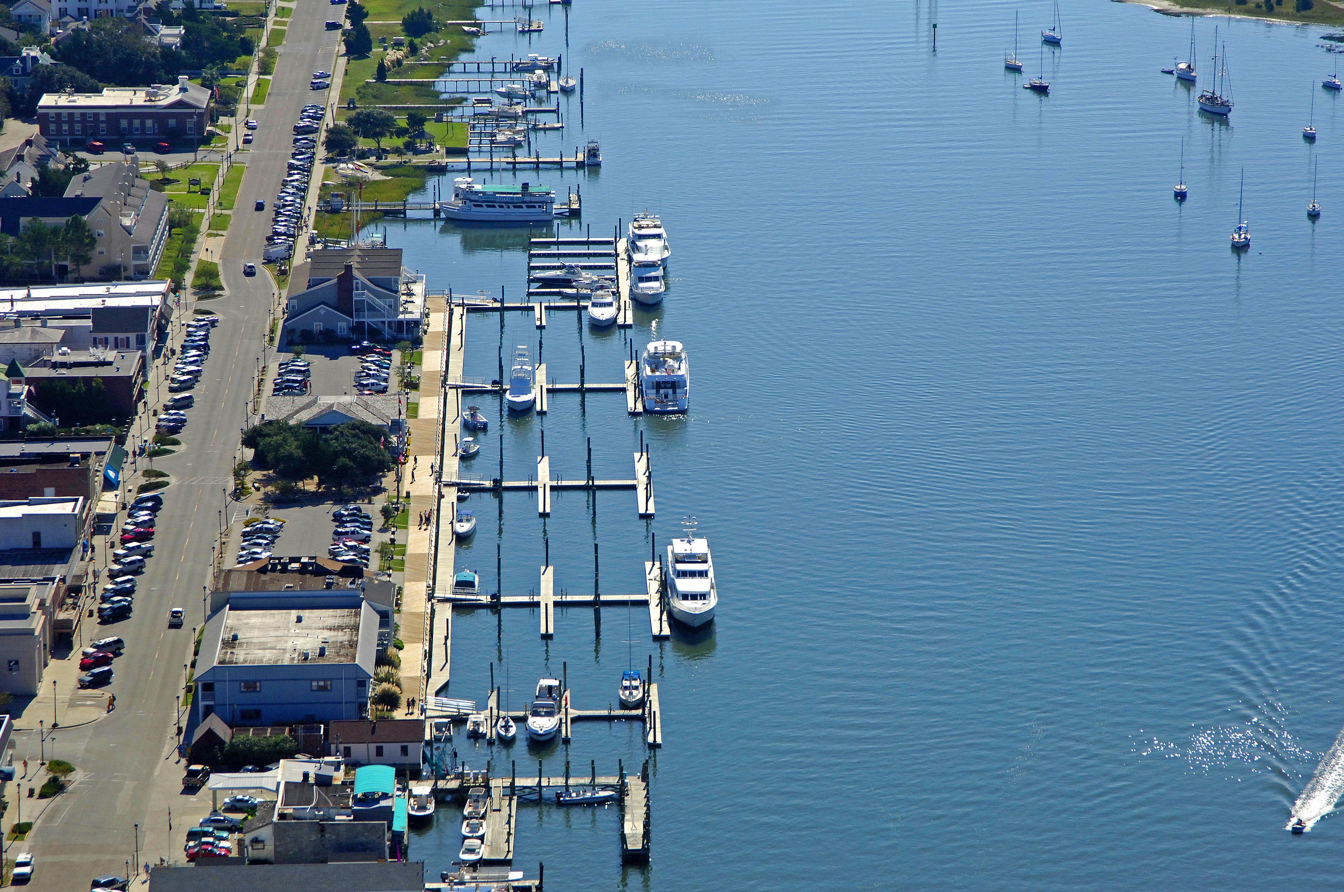 Beaufort Docks in Beaufort, NC, United States - Marina