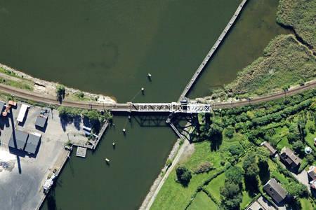 Vänersborg Järnvägsbron Railway Bascule Bridge
