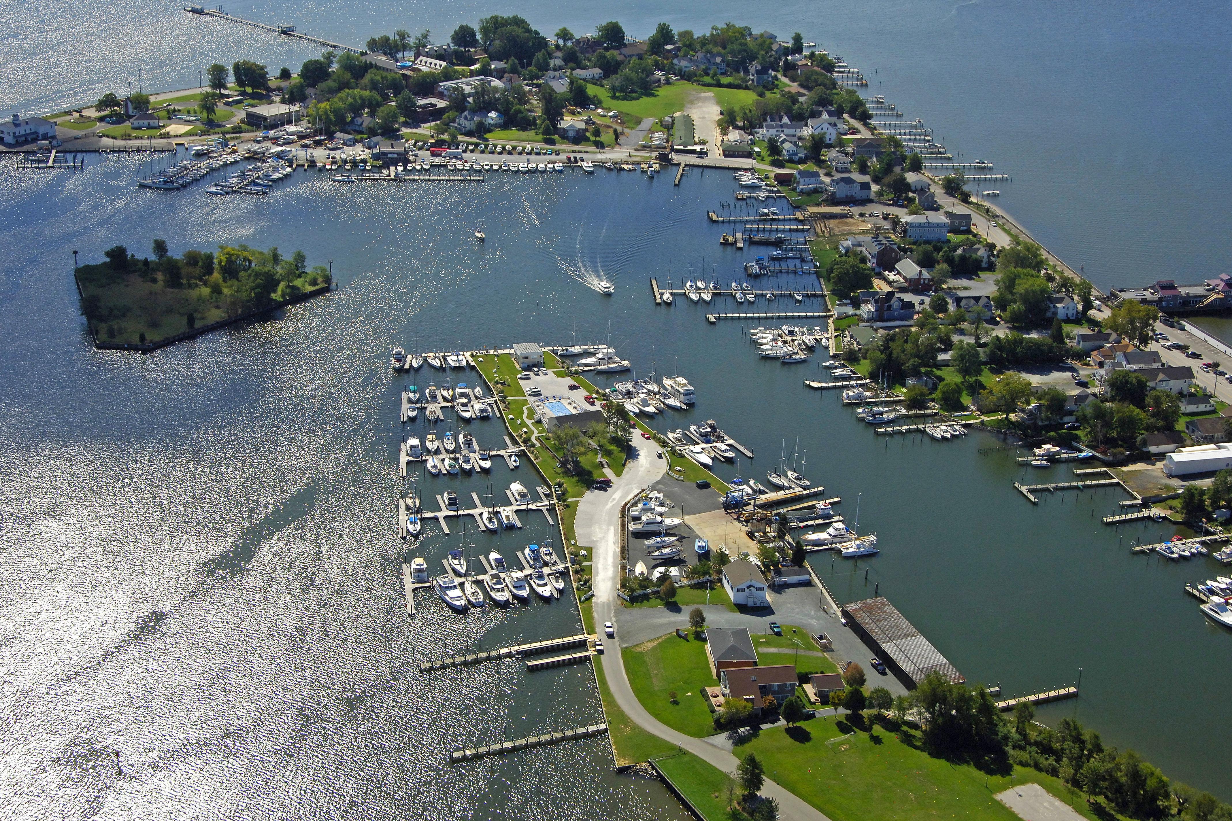 solomons island harbor in solomons md united states harbor