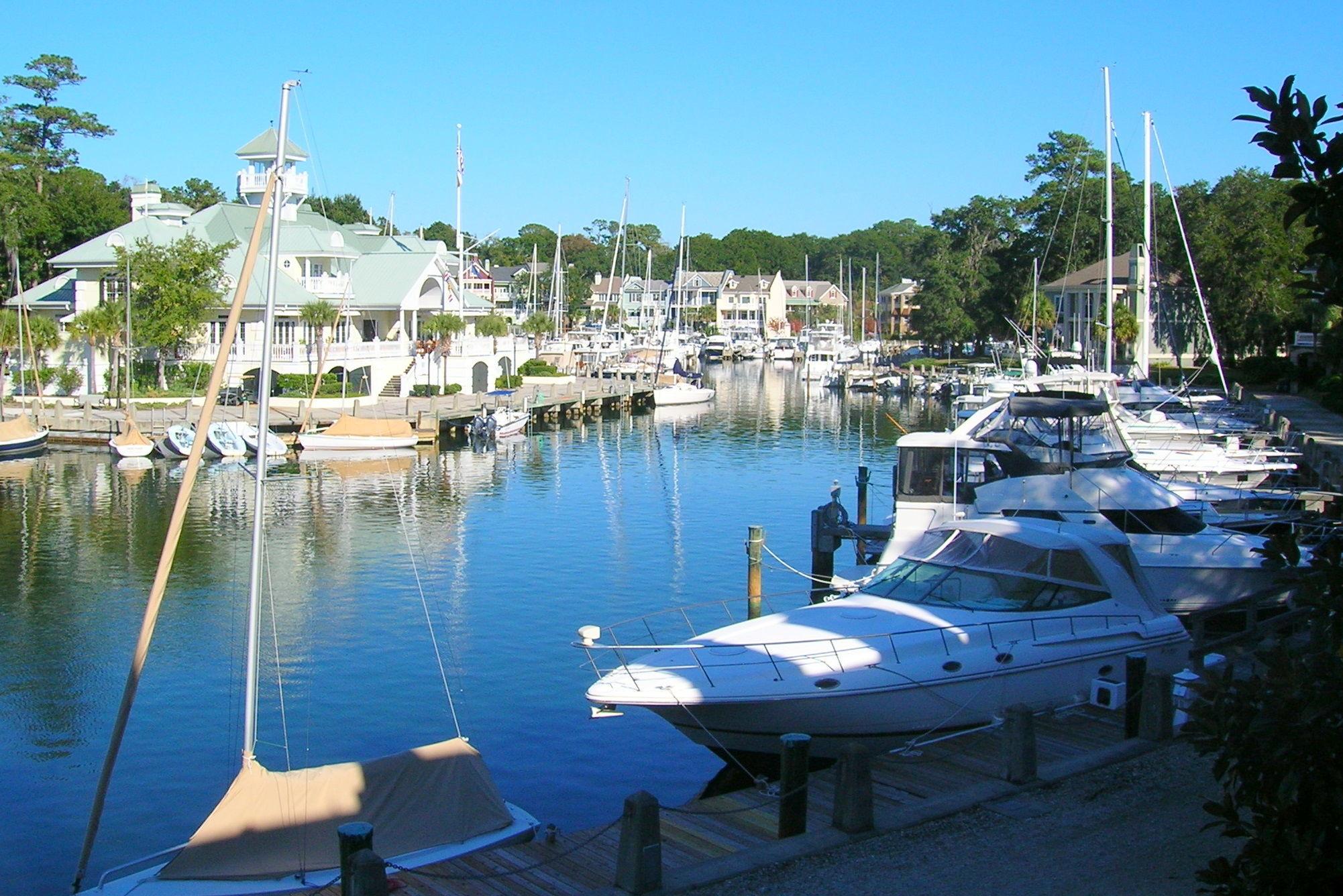 Windmill Harbour Marina in Hilton Head Island SC United States