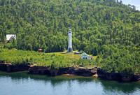 Devils Island Light