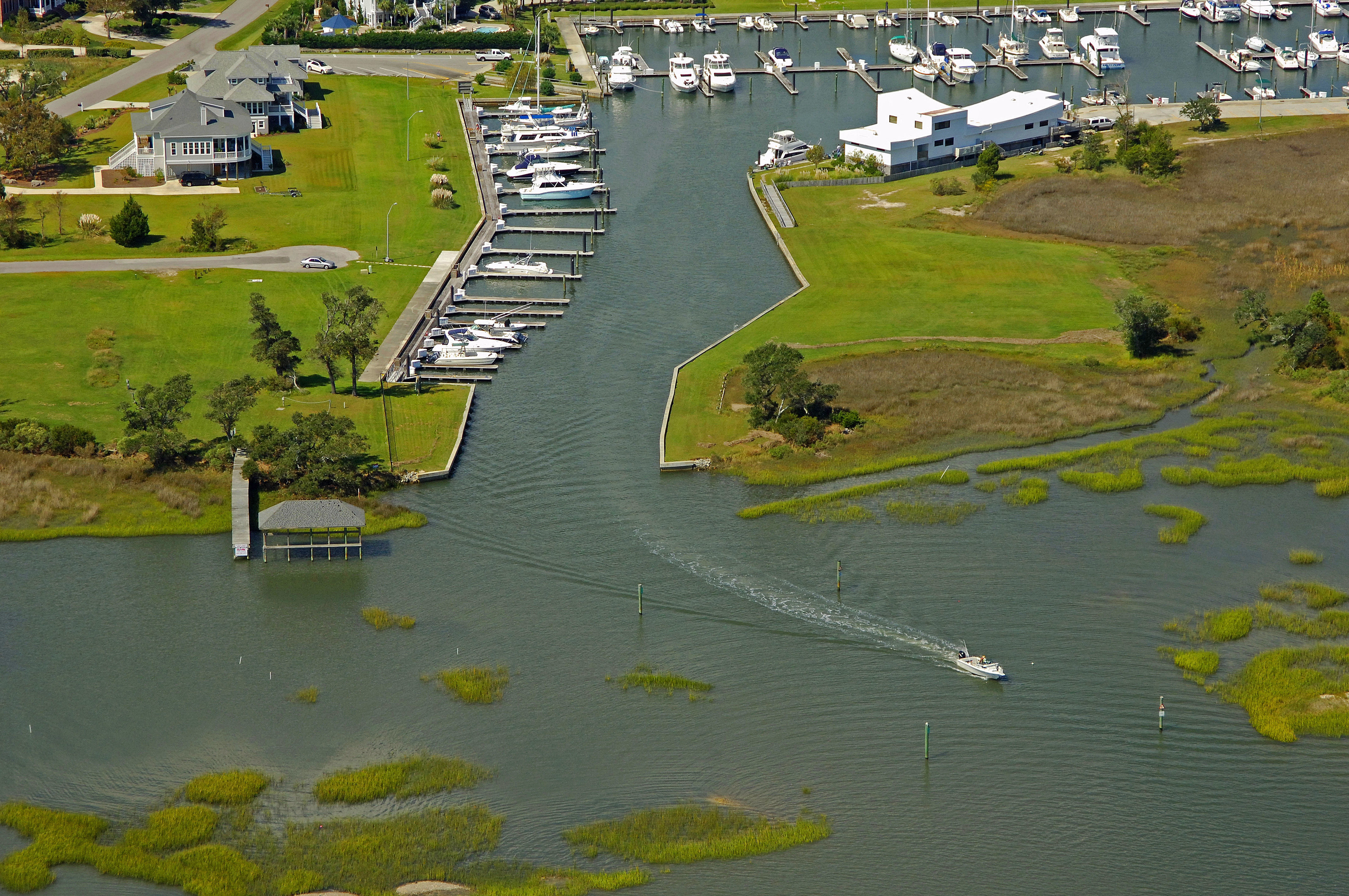 Harbour Village Marina in Hampstead, NC, United States