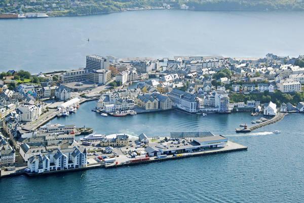 Alesund Town Harbour
