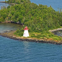 Shaganash Island Light (Island # 10)
