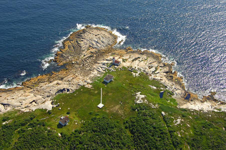 White Head Island East Coast Nova Scotia Lighthouse