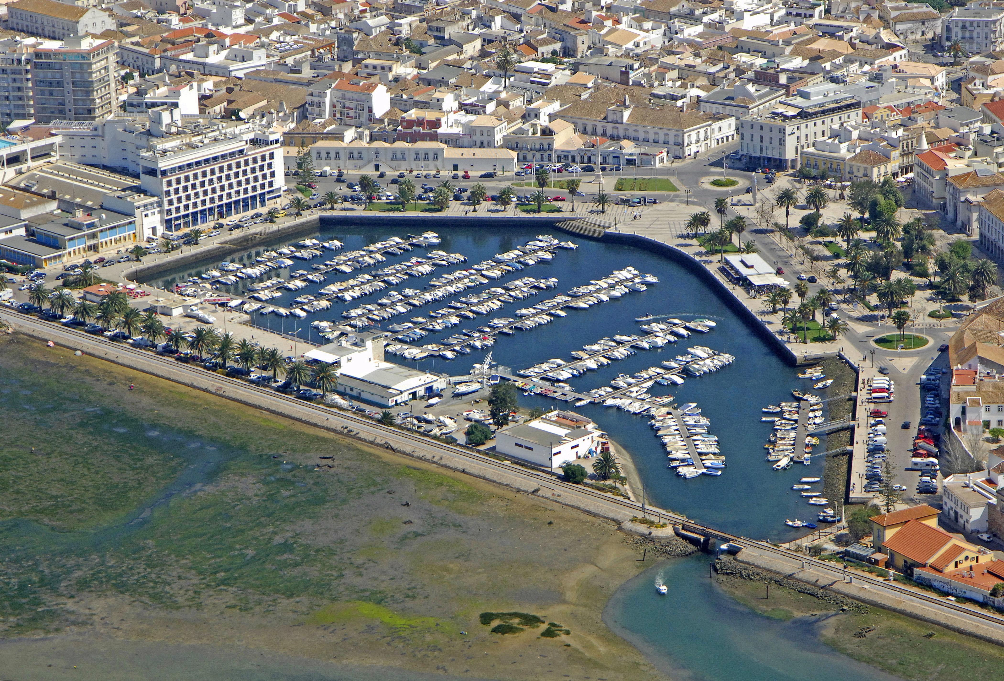 Faro Marina In Faro, Portugal