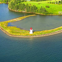 Bourgeois Inlet Light