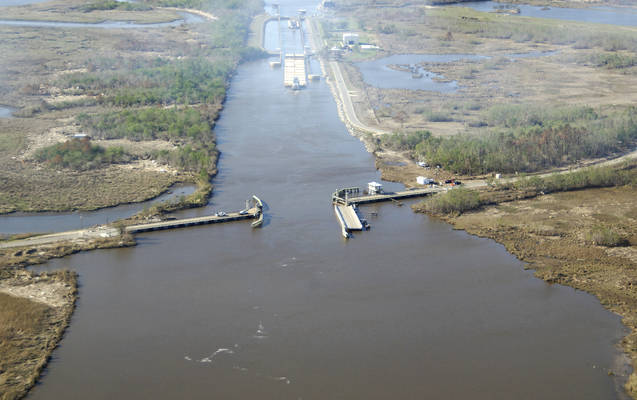 Black Bayou Pontoon Bridge