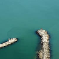 Gruissan Estuary Inlet