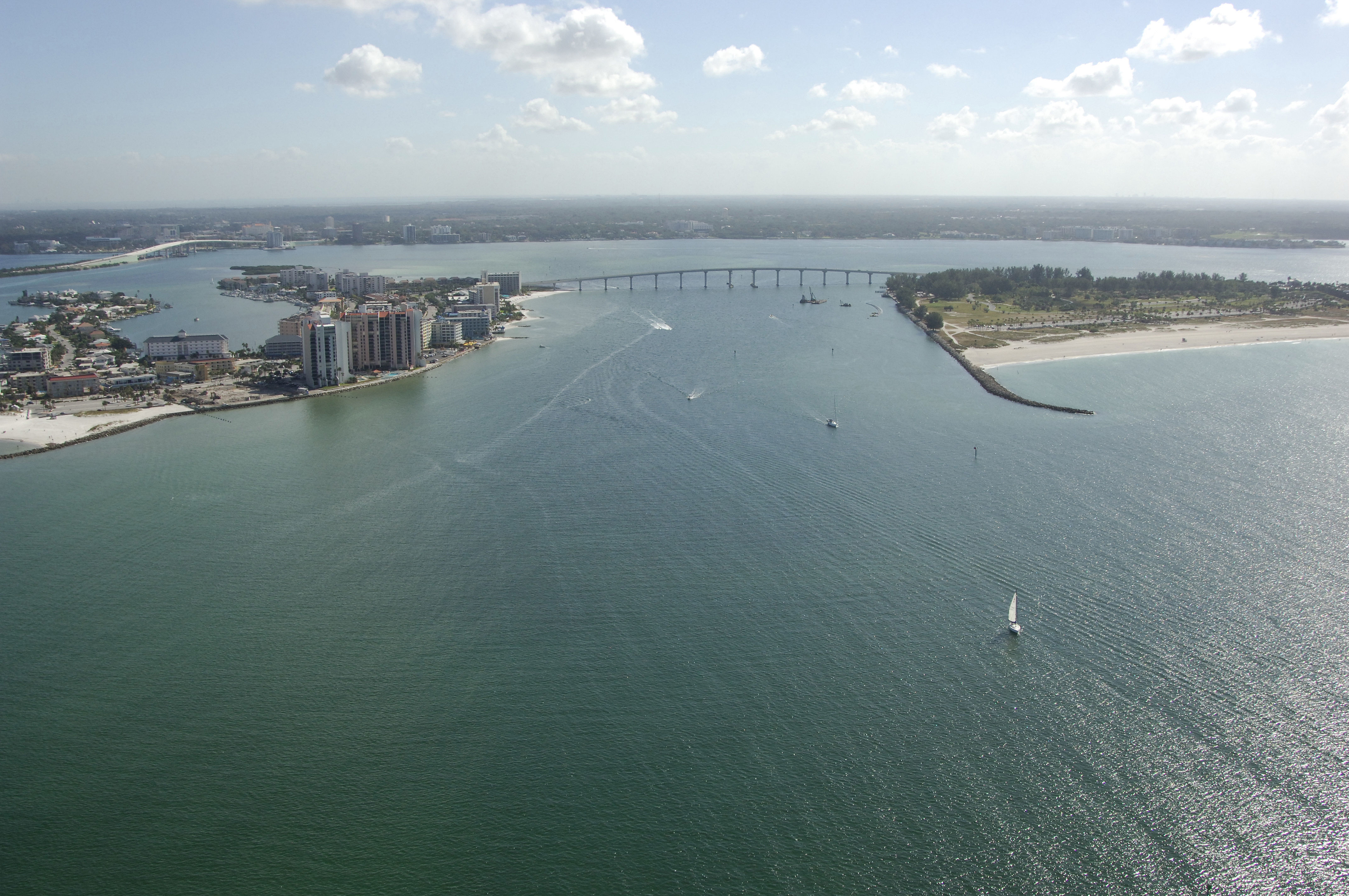 Clearwater Pass Inlet In Clearwater Fl United States Inlet
