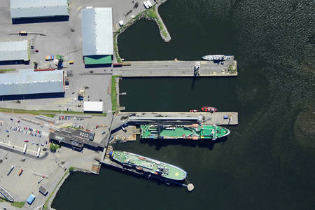 Vaasa Ferry Harbour