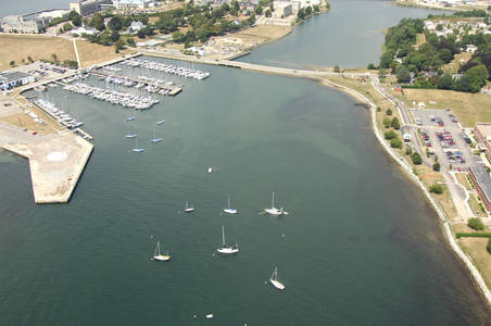 Coasters Harbor Inlet