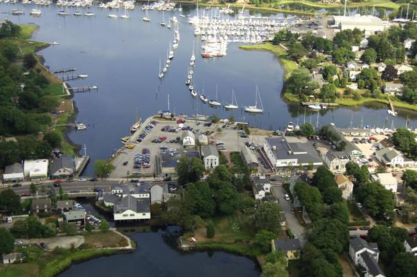 Wickford Village Town Dock