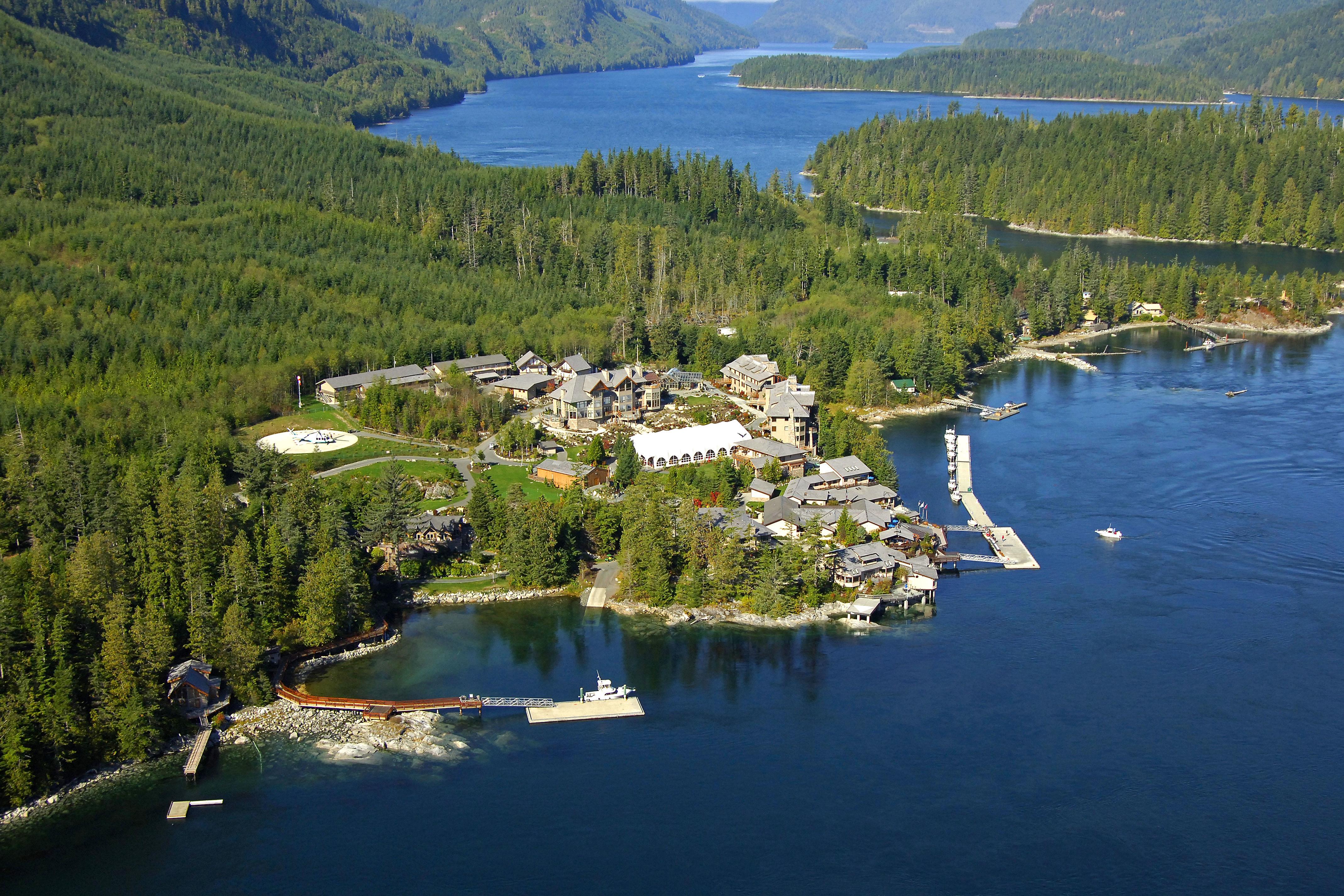 Sonora Resort in Sonora Island, BC, Canada - Marina Reviews - Phone