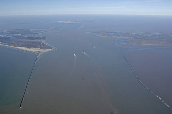 Galveston Bay Inlet