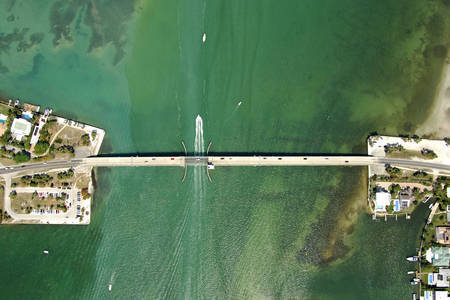 Siesta Drive Bascule Bridge