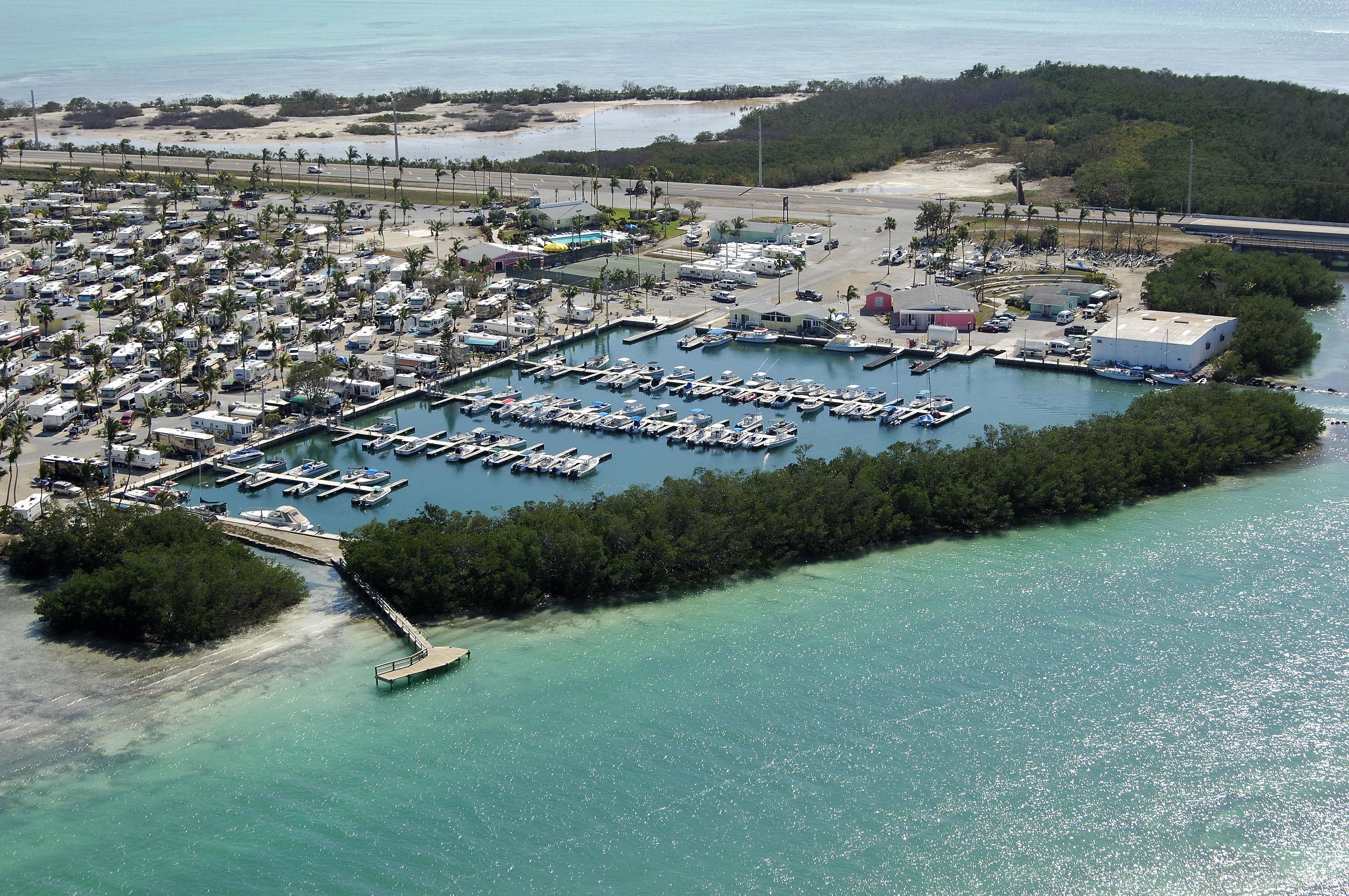 Sunshine Key Camping Resort in Big Pine Key FL United