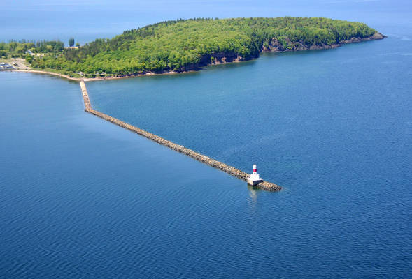 Presque Isle Breakwater  Lighthouse